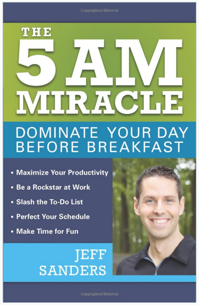 The 5 AM Miracle book