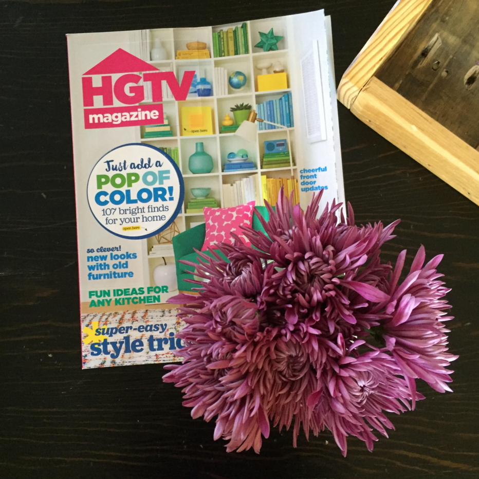 Why I Love HGTV magazine