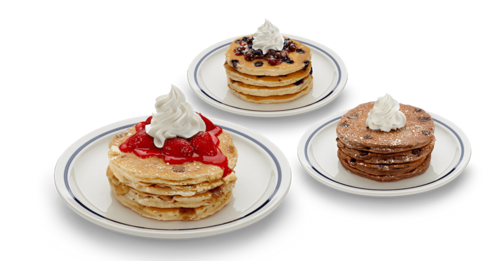 Sign up for the IHOP Pancake Revolution to get three FREE pancake meals!