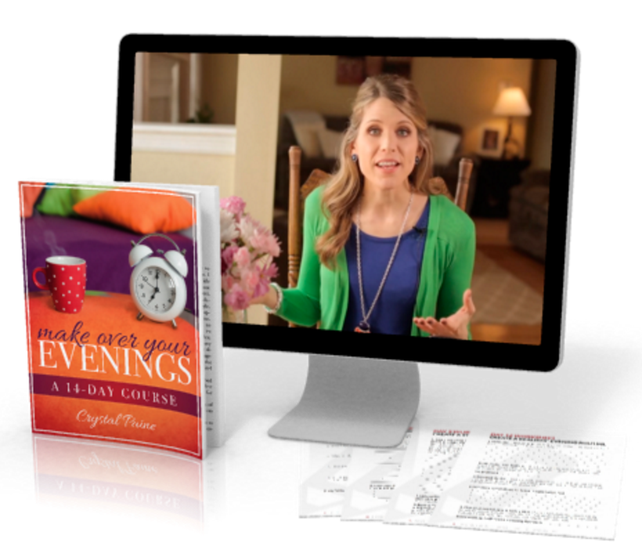 BIG NEWS!! Our brand-new Make Over Your Evenings Course is finally here!