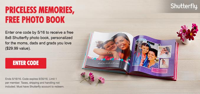 my coke rewards free shutterfly 8x8 photo book money saving mom