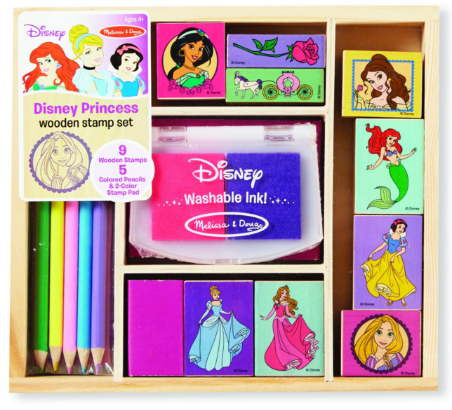 Get this Melissa & Doug Disney Princess Wooden Stamp Set for just $8.99 right now!!
