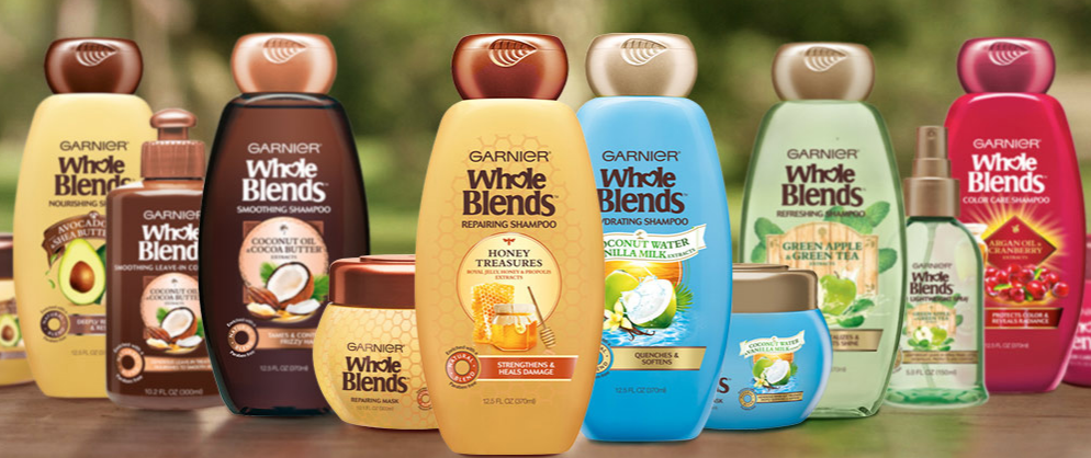 Sign up for a free sample of Garnier Whole Blends!