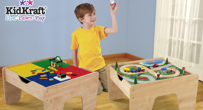 Get the KidKraft 2-in-1 Activity Table for just $65.51 shipped!