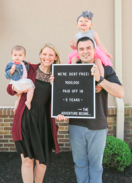 Debt Free Story: How we paid off every debt including our house in 5 years!