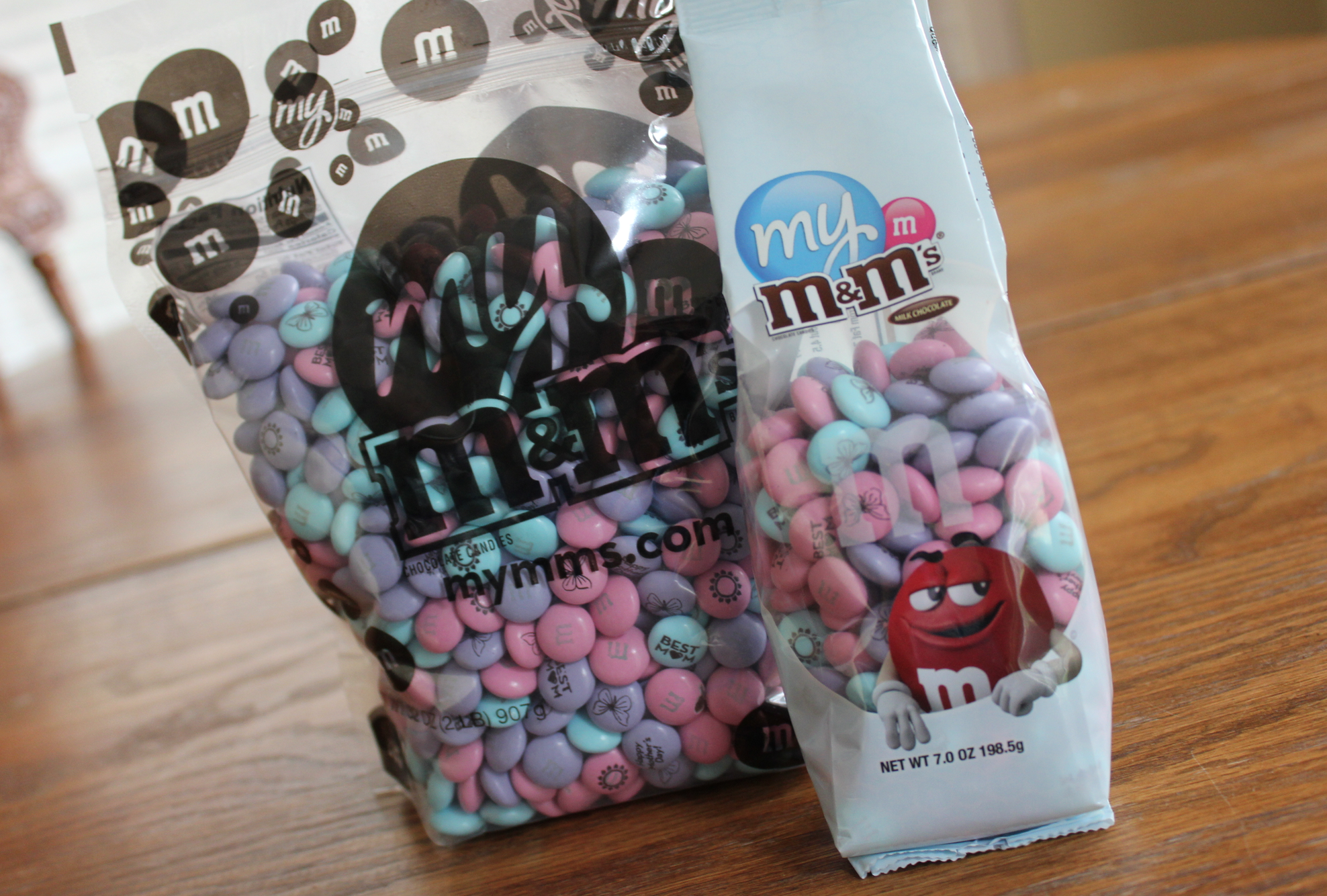 MY M&M'S GIVEAWAY