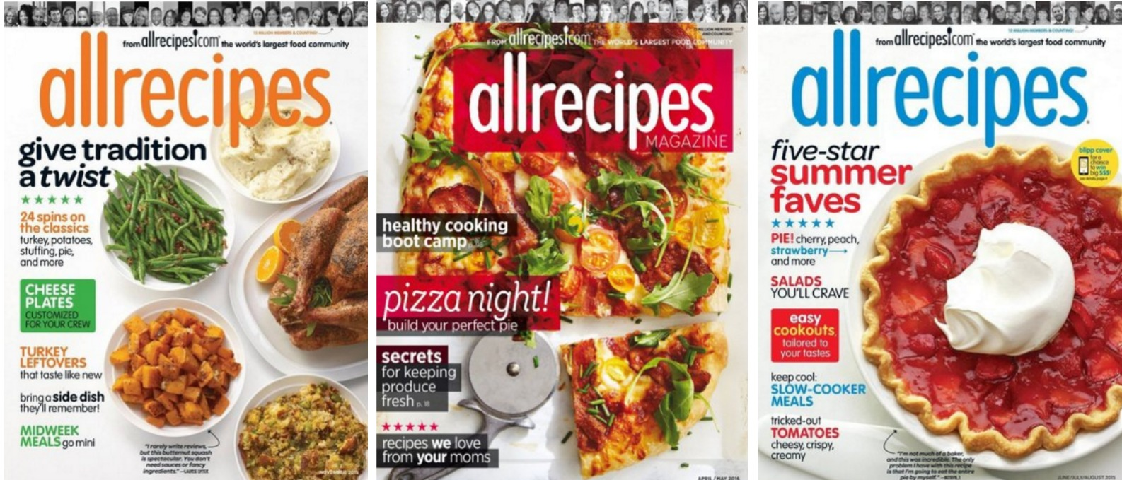 allrecipes mags