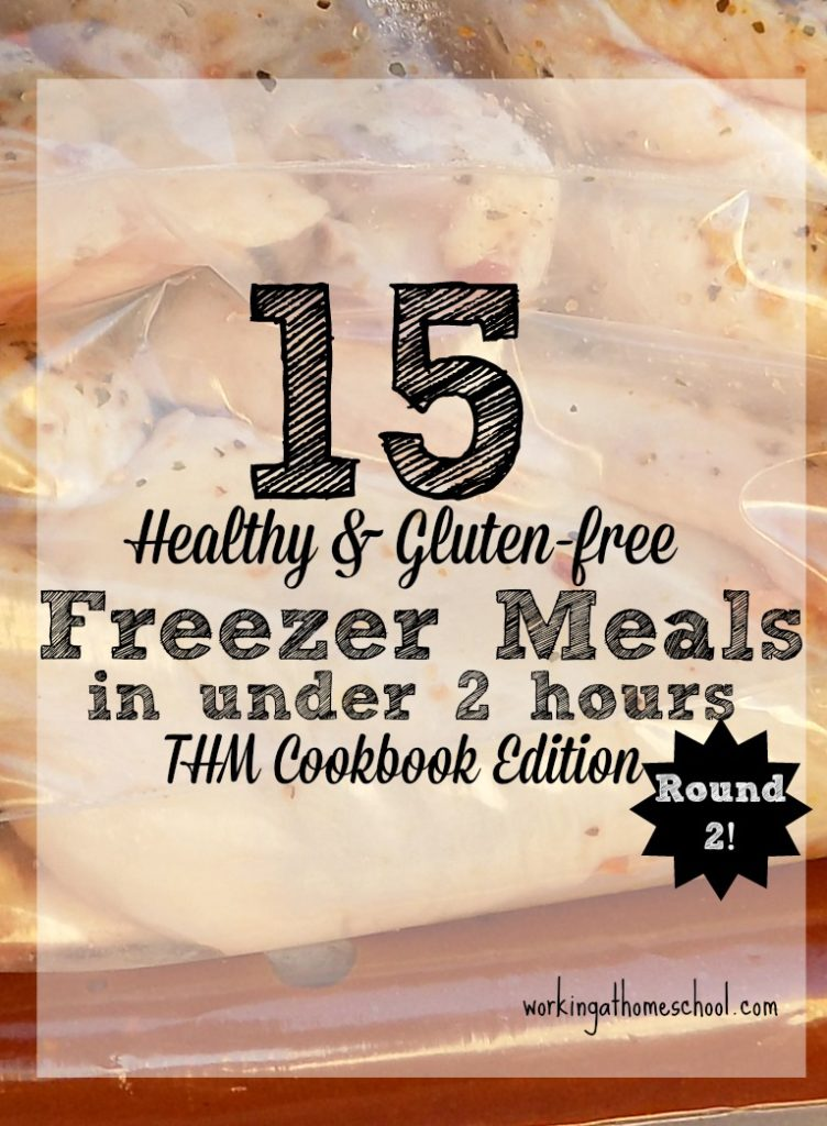 15 Trim Healthy Mama Freezer Meals