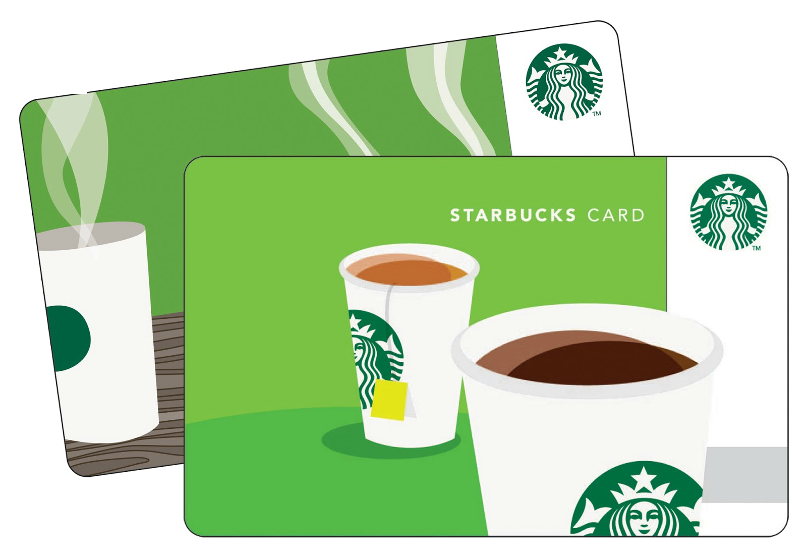 Starbucks buy one 10 gift card get one free money for Starbucks business cards
