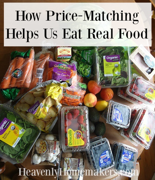 How Price Matching Helps Us Eat Real Food
