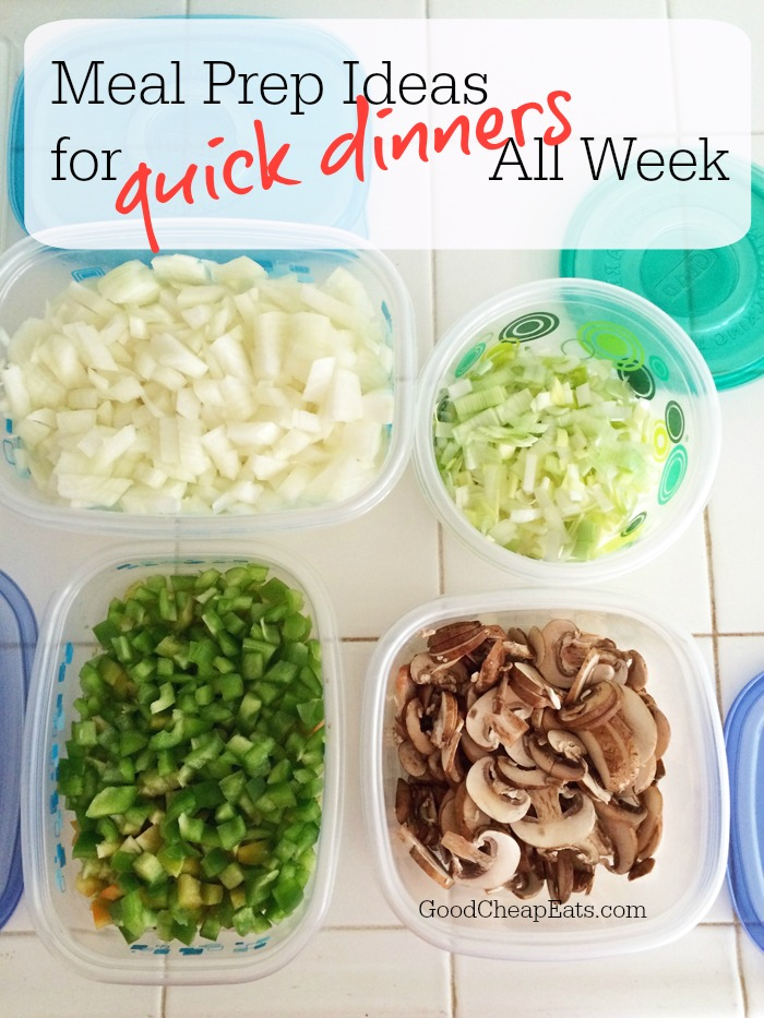 check out these great meal prep ideas for quick dinners all week