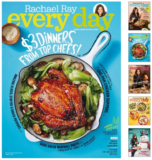 Get Rachael Ray Magazine for just $4.95 per year!! Super rare!