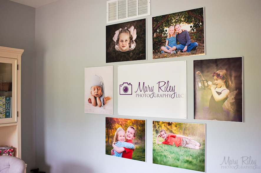 How to create wall photo canvases inexpensively!