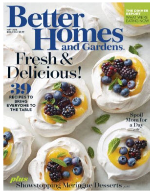 Sign up for a free one-year subscription to Better Homes & Gardens magazine!