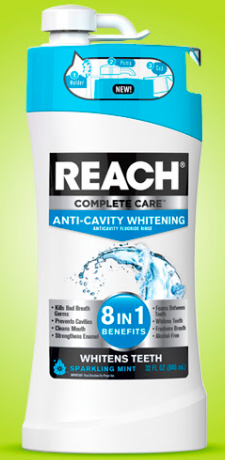 Get Reach Anti-Cavity Whitening Rinse for just $0.50 at Walgreens right now!