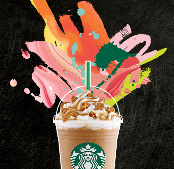 Stop by Starbucks for half price frappuccinos through May 15th!