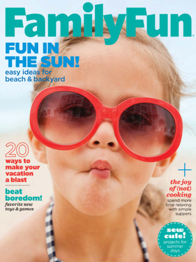 Sign up for a free one-year subscription to Family Fun magazine!