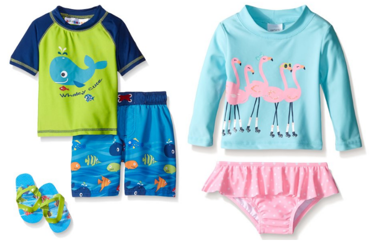 Get up to 60% off kids' bathing suits on Amazon!