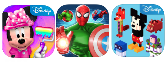Download 148 Disney apps for FREE today!