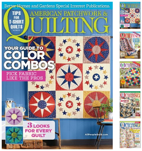 RARE! American Patchwork & Quilting Magazine for $8.99 ...