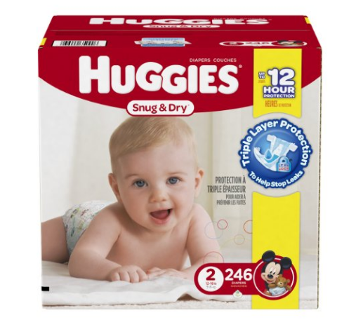Create an Amazon Baby Registry as an Amazon Family member, and you can get 50% off Huggies diapers with FREE shipping!
