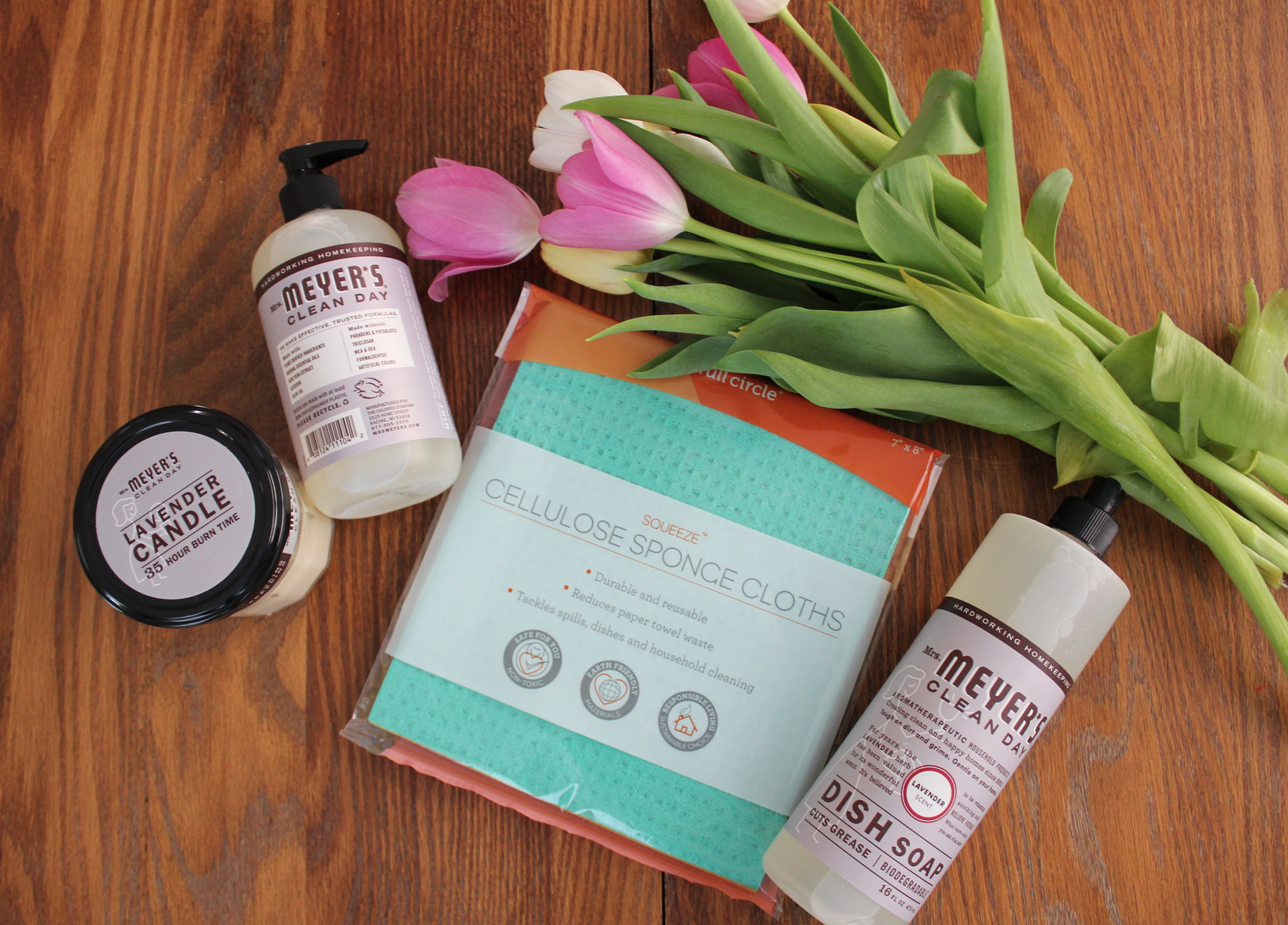 Get this amazing Mrs. Meyer's Essentials Kit for FREE!