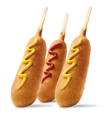 Get corn dogs for $0.50 all weekend long at Sonic!
