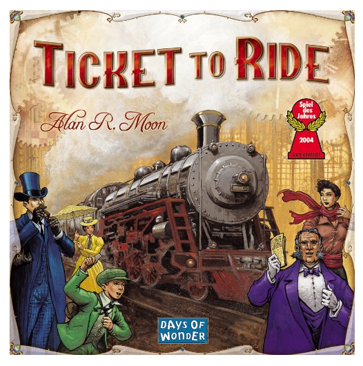 Get a RARE price low on the Ticket to Ride Board Game!