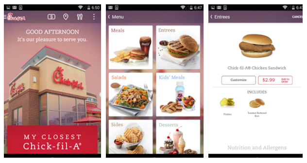Chick fil a free chicken sandwich with mobile app download money download the chick fil a mobile app to get a free chicken sandwich in forumfinder Image collections