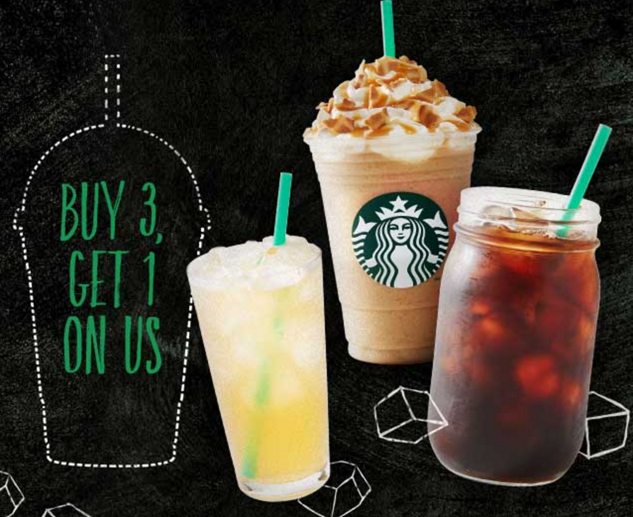 Deals on Starbucks drinks!