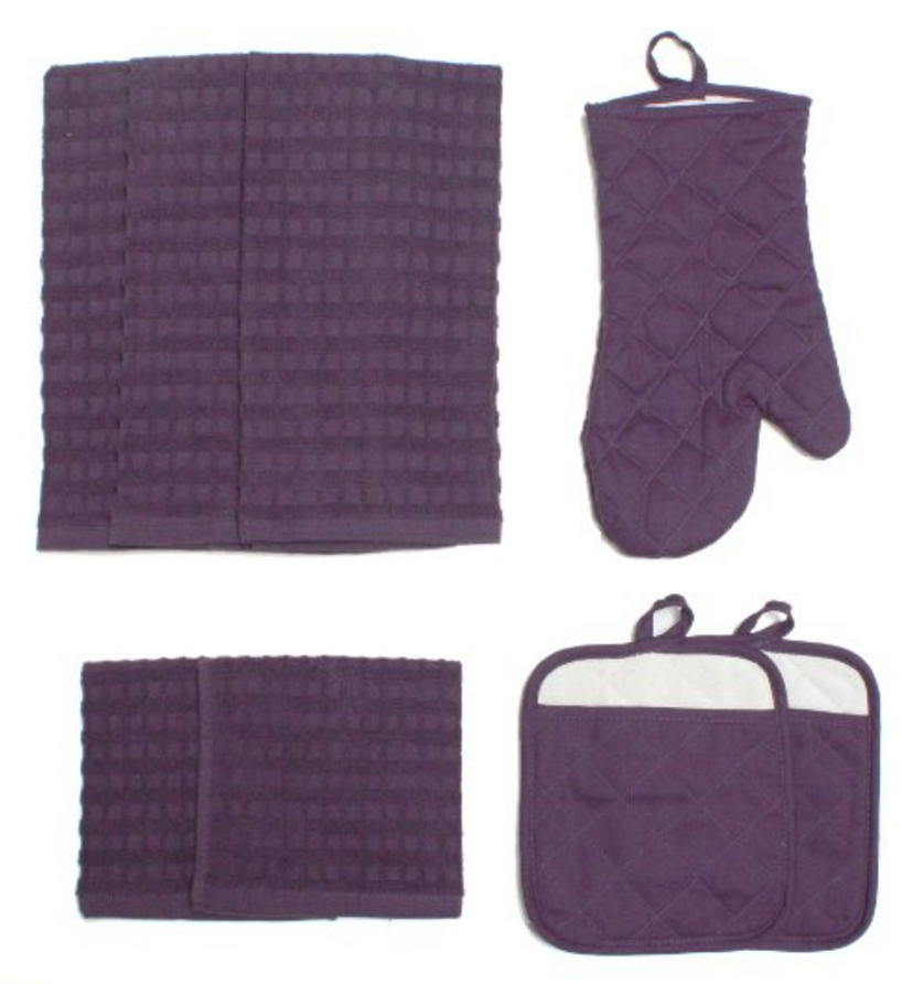 8-piece Kitchen Towel Set for $6.28 shipped!