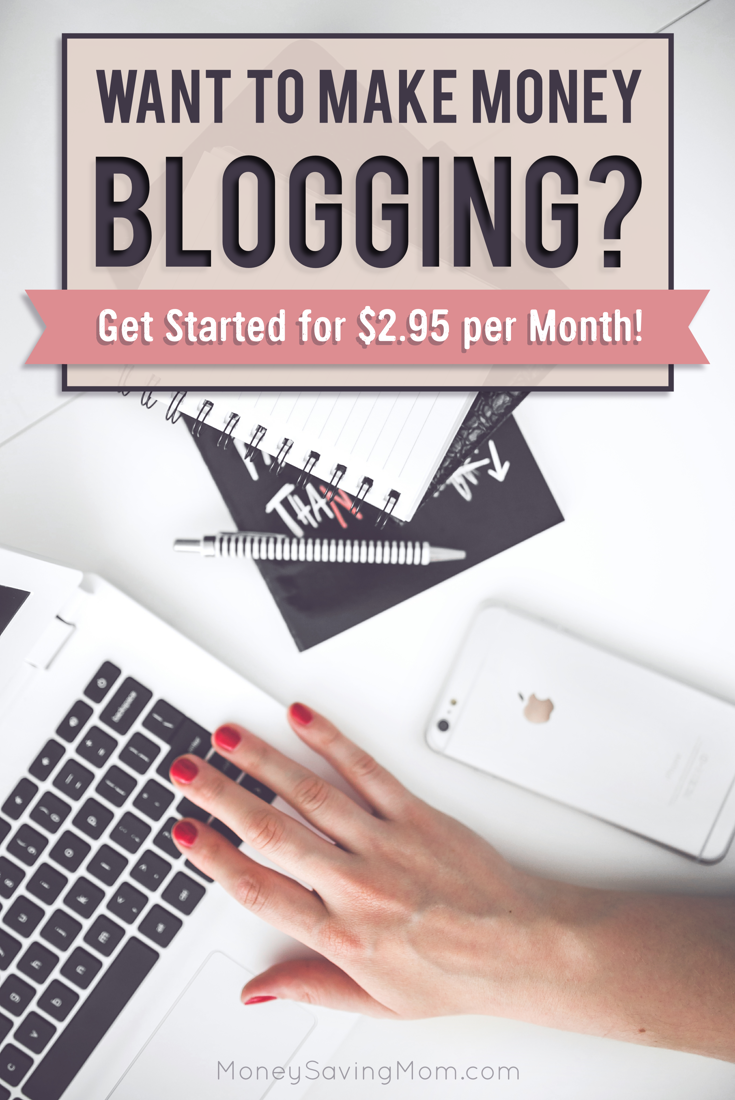 Thinking of setting up a website or blog? You'll want to check out this hot offer from Bluehost! Through the end of May, get web hosting for just $2.95 per month!! This is a super RARE sale!