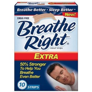 Free samples of Breathe Right Strips