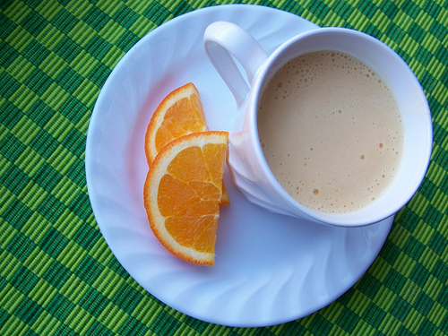 Orange Cream Smoothie (This one uses frozen oranges and is so ...