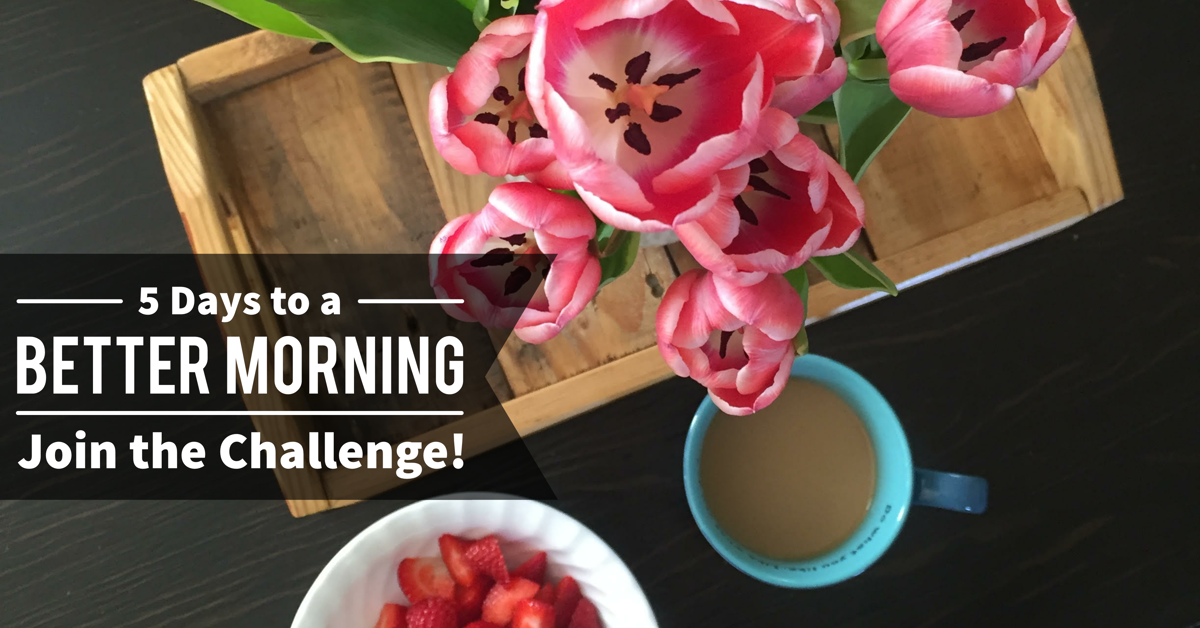 5DaysToABetterMorning-JoinTheChallenge-FbAd (1)