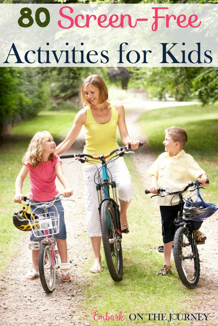 80+ Screen-Free Activities for Kids