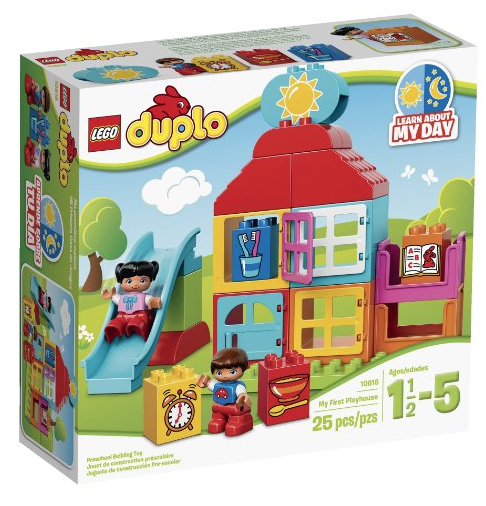 Amazon Prime members can pick up this LEGO DUPLO My First Playhouse for just $7.83 right now!