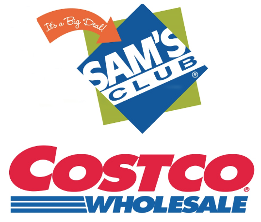Costco members can try out Sam's Club for free with Cotsco card.