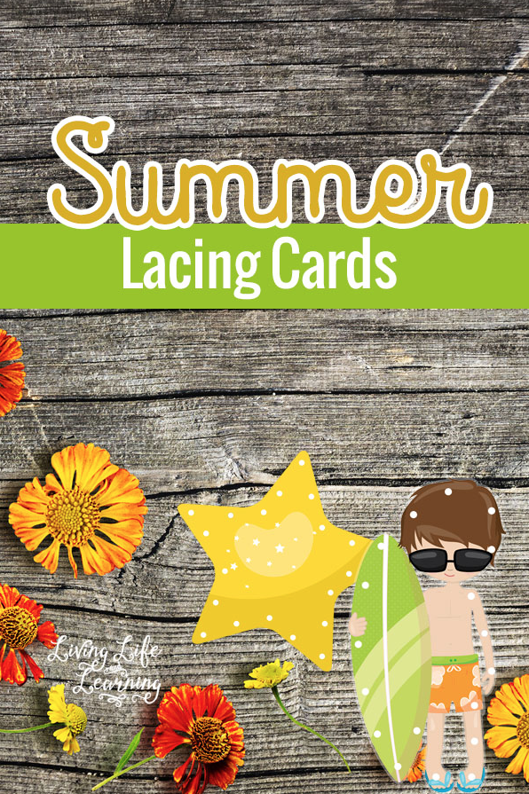 Download these free summer lacing cards.