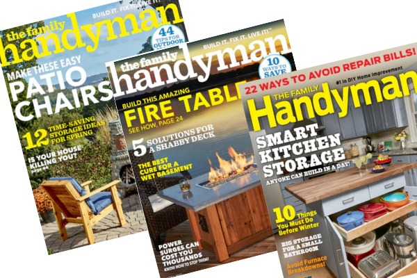 RARE! Family Handyman magazine for $6 50 per year! - Money