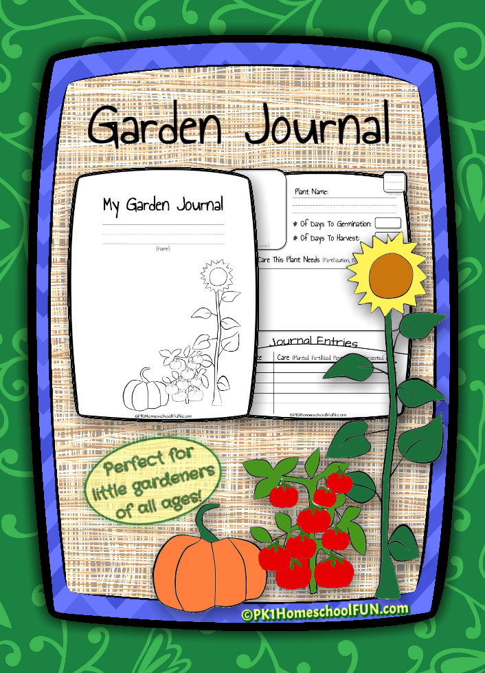 photograph relating to Printable Garden Journal named No cost Printable Gardening Magazine for Youngsters Revenue Conserving Mother