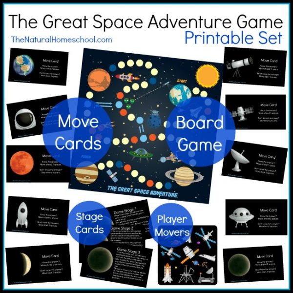 Free Printable Space Adventure Game