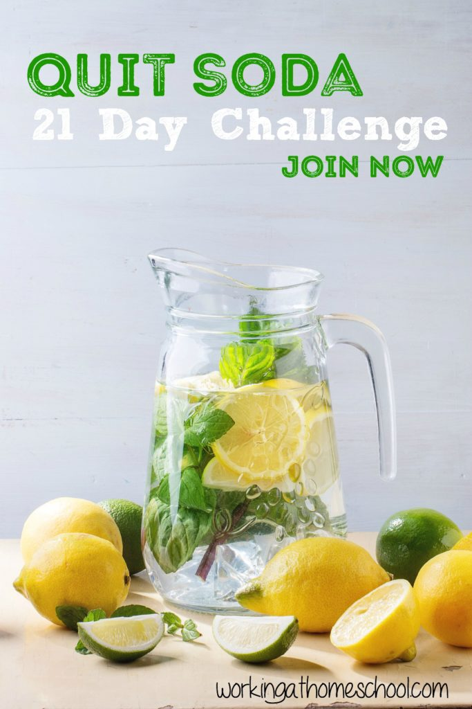 Sign up for a FREE Quit Soda 21-Day Challenge!