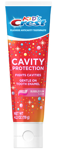 Get free Crest Kid's Cavity Protection toothpaste at Target today only!