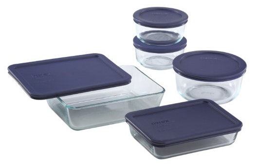 Get this Pyrex 10 Piece Simply Store Food Storage Set for just $14.39!