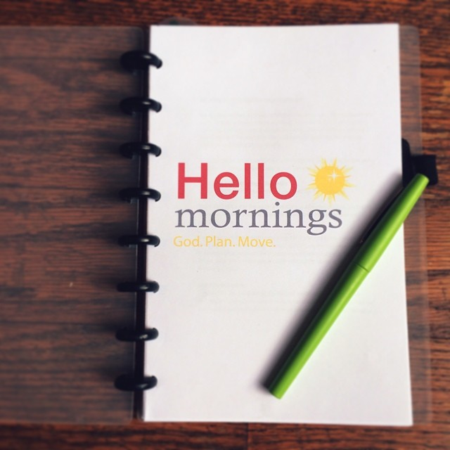 Hello Mornings!