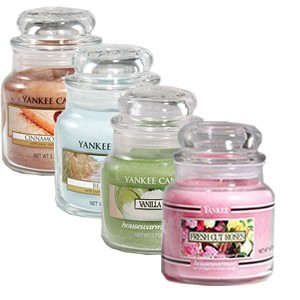 Print a new Yankee Candle coupon to get buy one, get two free small jar or tumbler candles!