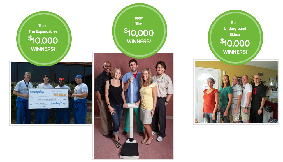 HealthyWage Team Weight Loss Challenge: Hit your weight loss goals and win up to $10,000 cash!