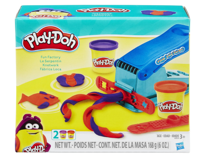 Get the Play-Doh Basic Fun Factory for just $5.99 -- the lowest price ever on record!
