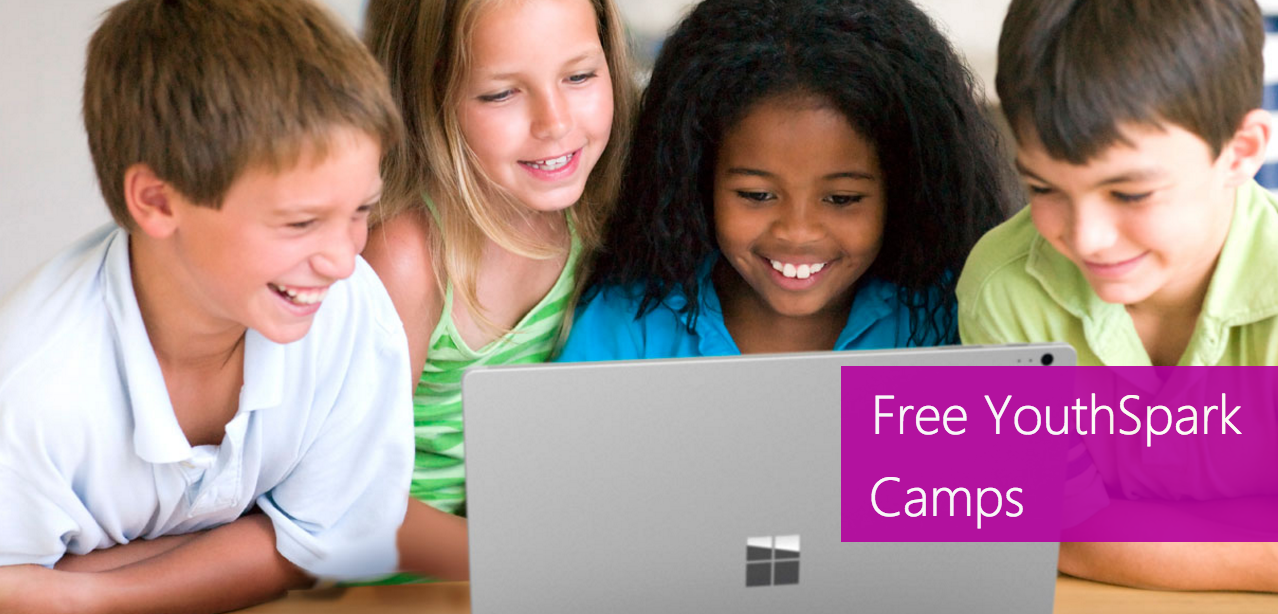 Microsoft is offering free summer camps for kids again this year!